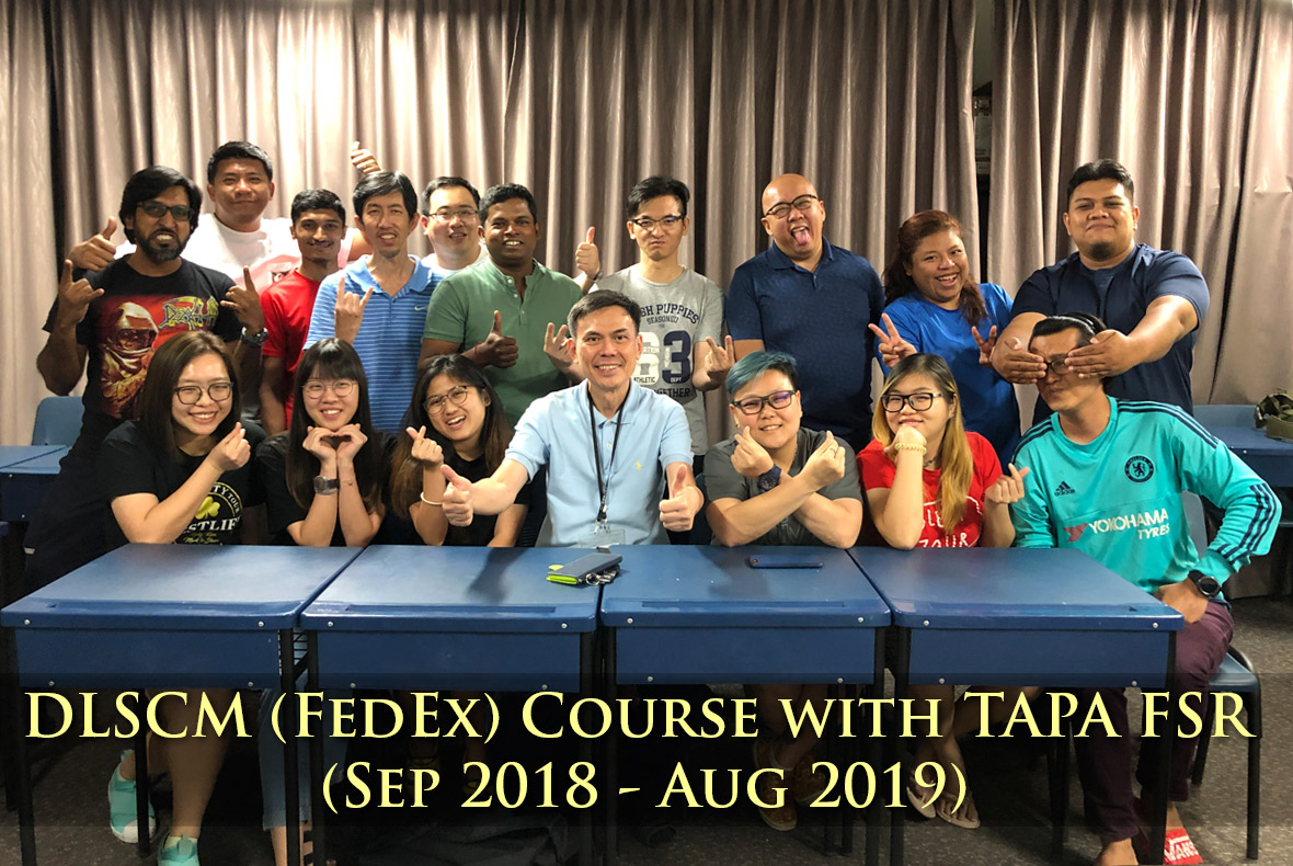 DLSCM (FedEx) Course Completion (24 Aug 2019)