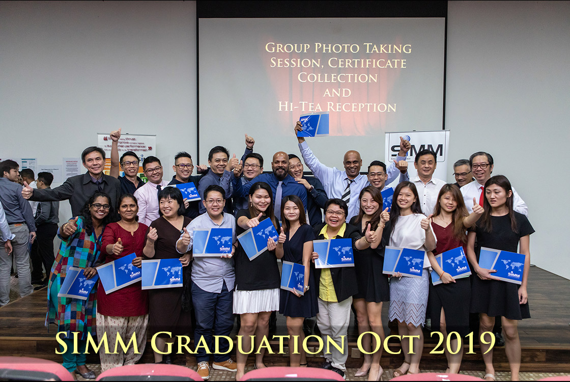 SIMM Graduation Ceremony - 12th Oct 2019