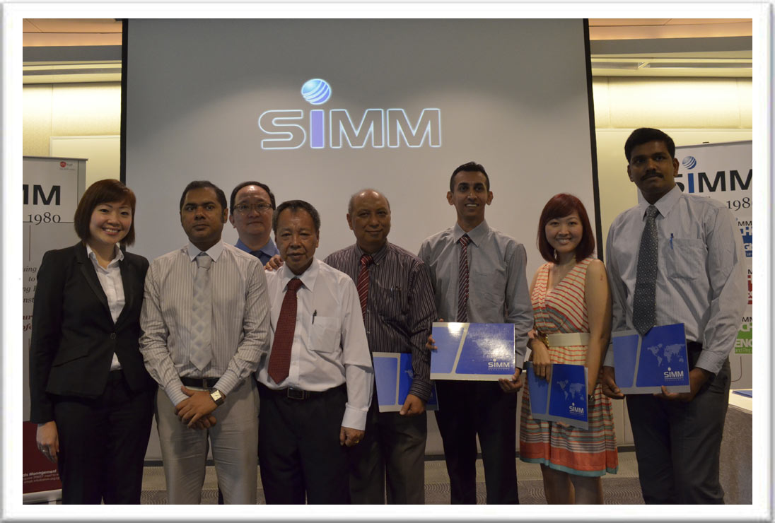 SIMM Graduation Ceremony [18 May 2013]