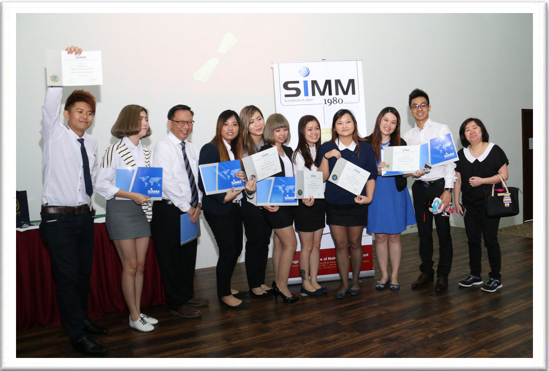 SIMM Graduation Ceremony [14 Nov 2015]